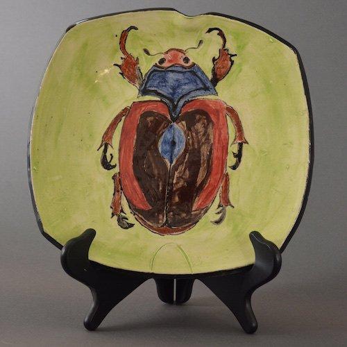 Eyrewell Beetle Brooch - Lisa West Jewellery | 500x500