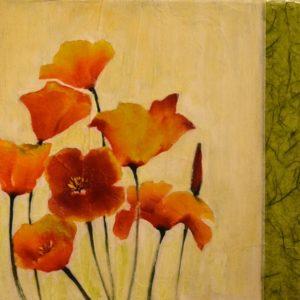 Poppies, Sharlene Cline