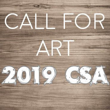 Call For Art: 2019 CSA