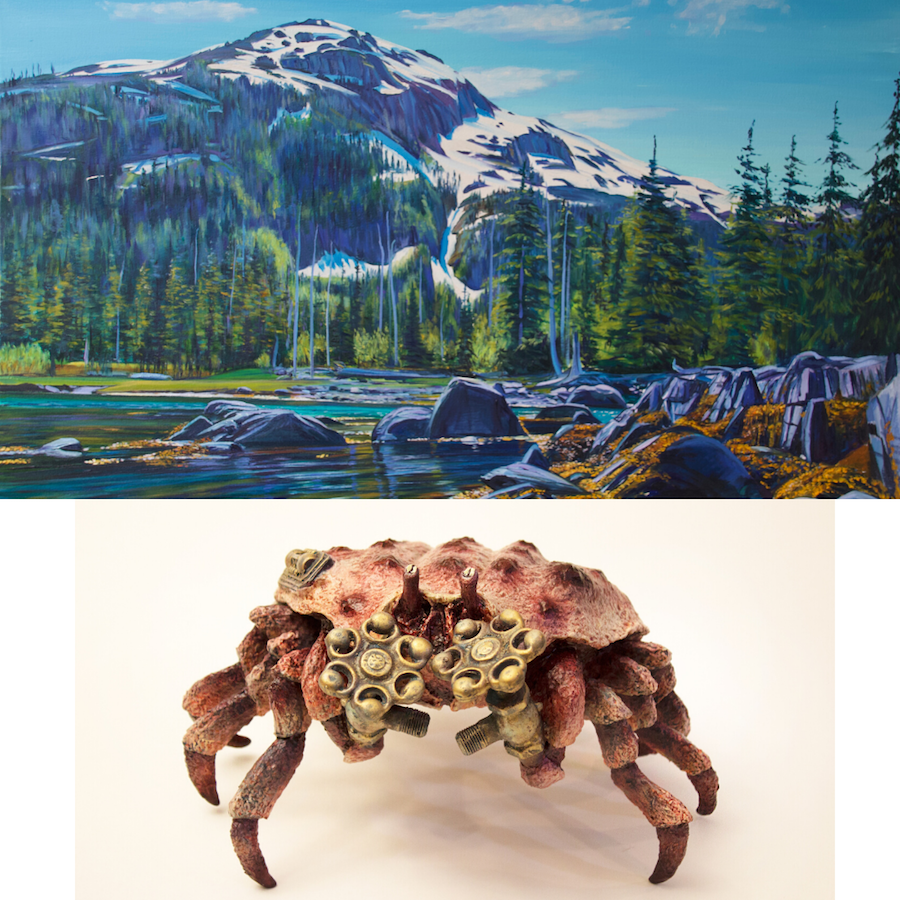Steven Gordon & Anvil Catlin Williamson, August 2020, Exhibit & Artist Talk