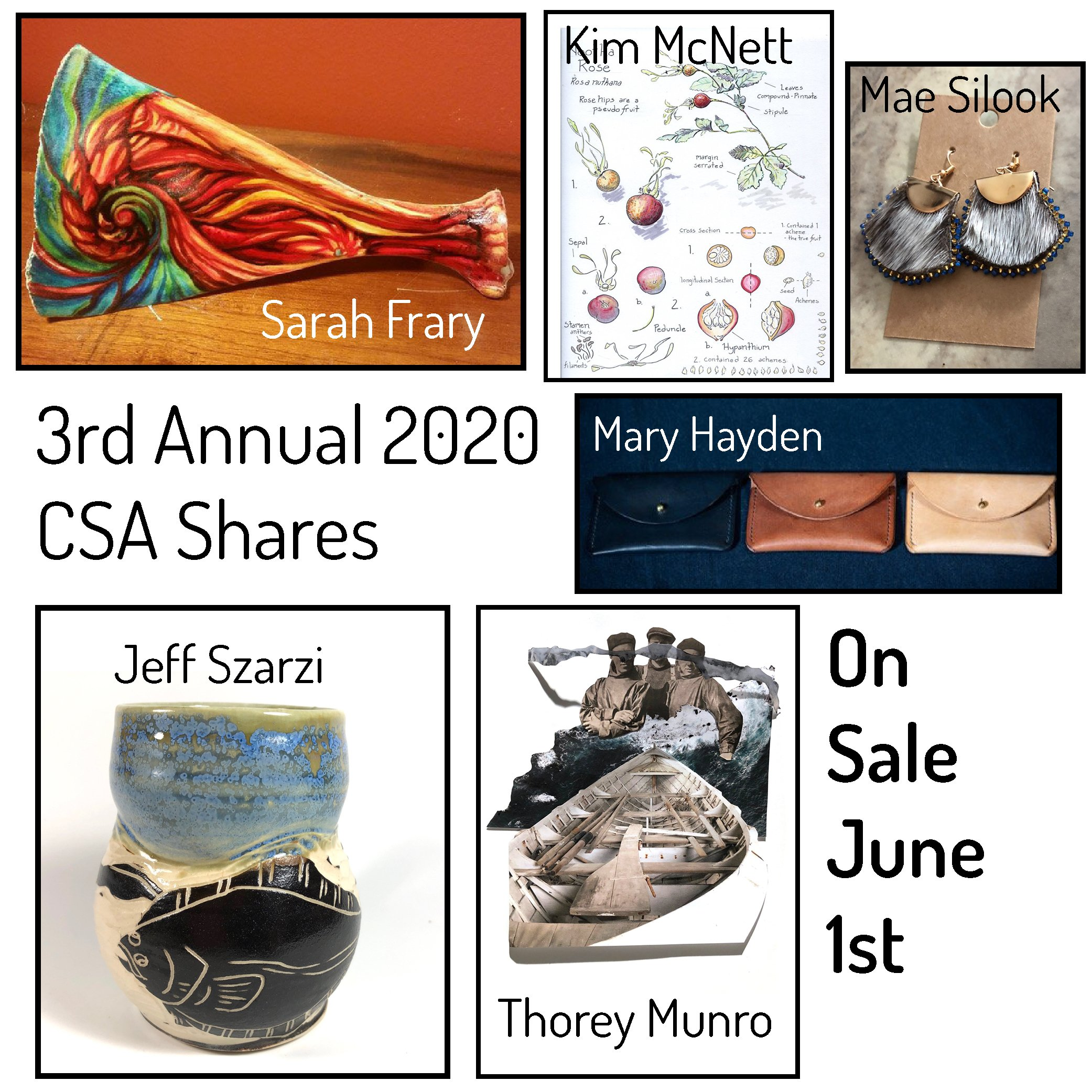 3rd Annual CSA Shares On Sale June 1st!