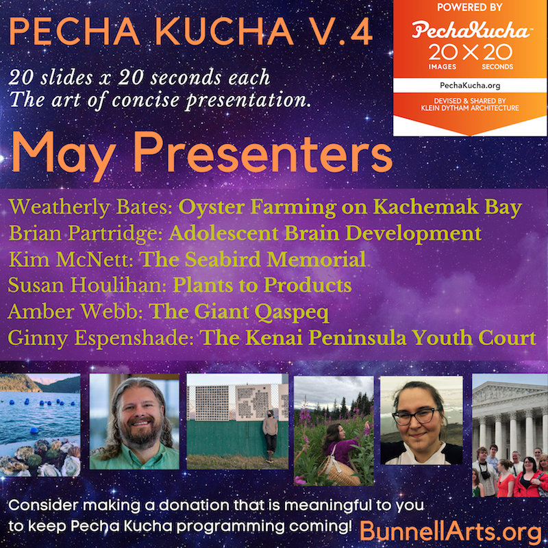 Pecha Kucha V.4, Video Release, May Presenters, 2020.