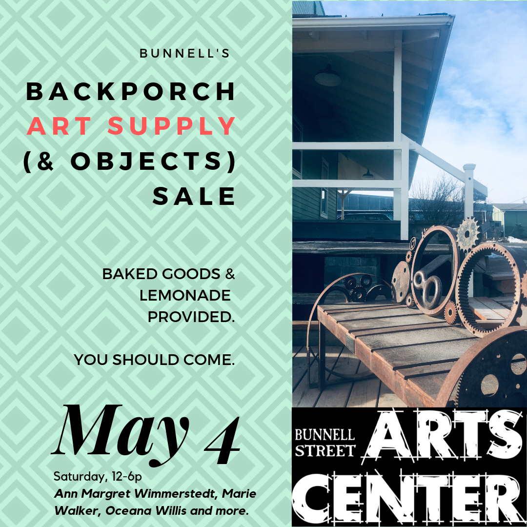 Back Porch Art Supply (& Objects) Sale