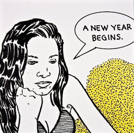 Brian Payne: 17 Syllables: A Comic Strip Triptych (I, II, III)