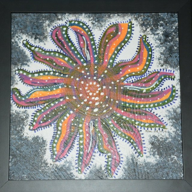 Fantasy Sunflower Seastar By Risa Jacinsky