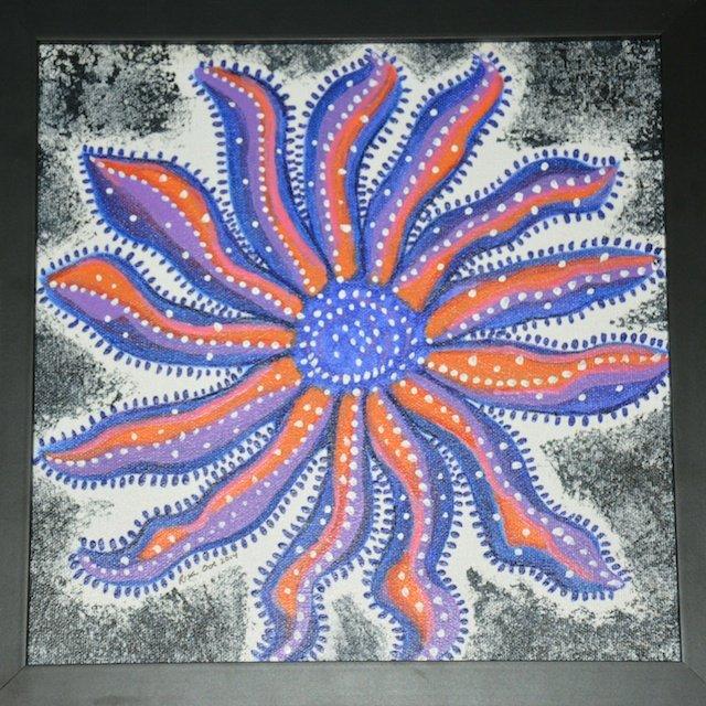 Fantasy Sun Star By Risa Jackinsky