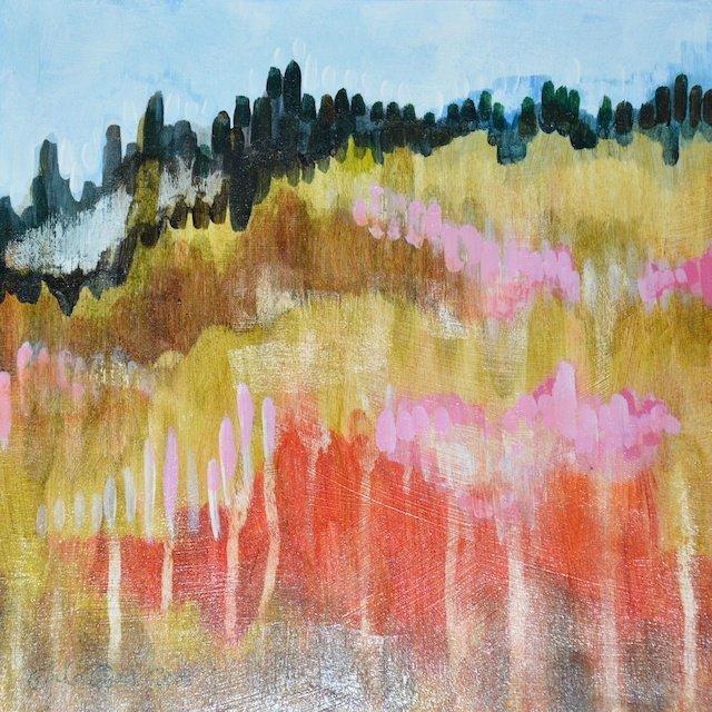 Hillside I By Carla Cope
