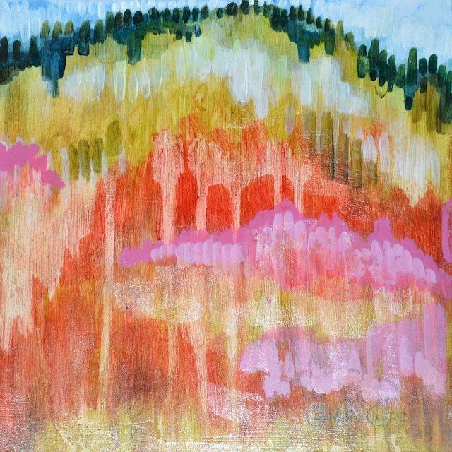 Hillside II By Carla Cope