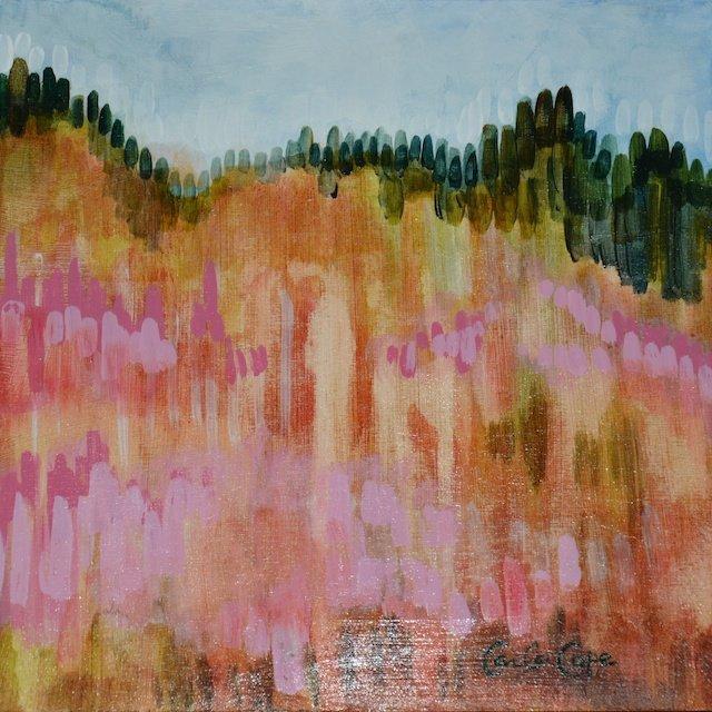 Hillside III By Carla Cope
