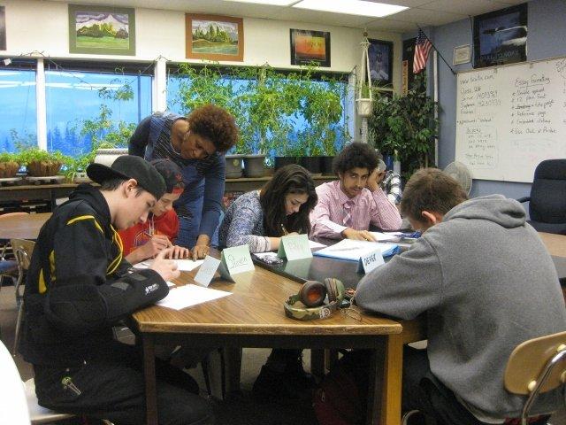 Dasha Kelly And Kima Hamilton, AIS At Seward Middle School, January 2017
