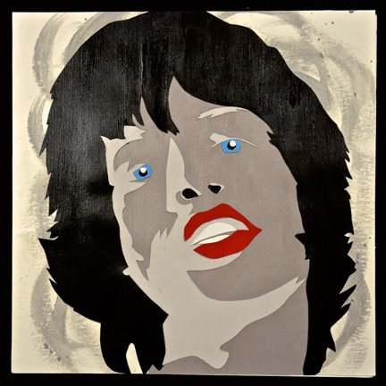 Deb Lowney: Mick Jagger 1