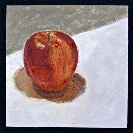 Gloria Mumm: Still Life With Apple