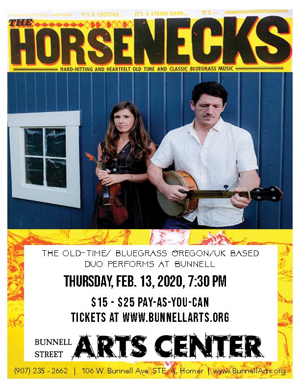 The Horsenecks, In Concert 2/13