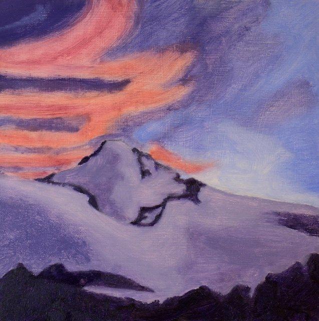 John Vanek, Morning Mountain Skyline