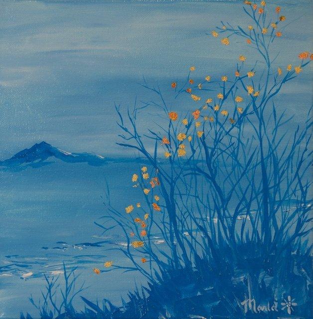 Marla Kvasnikoff, Blue And Gold 1I