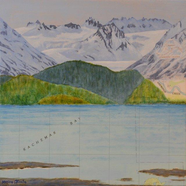 Monica O'Keefe, Blue Topography