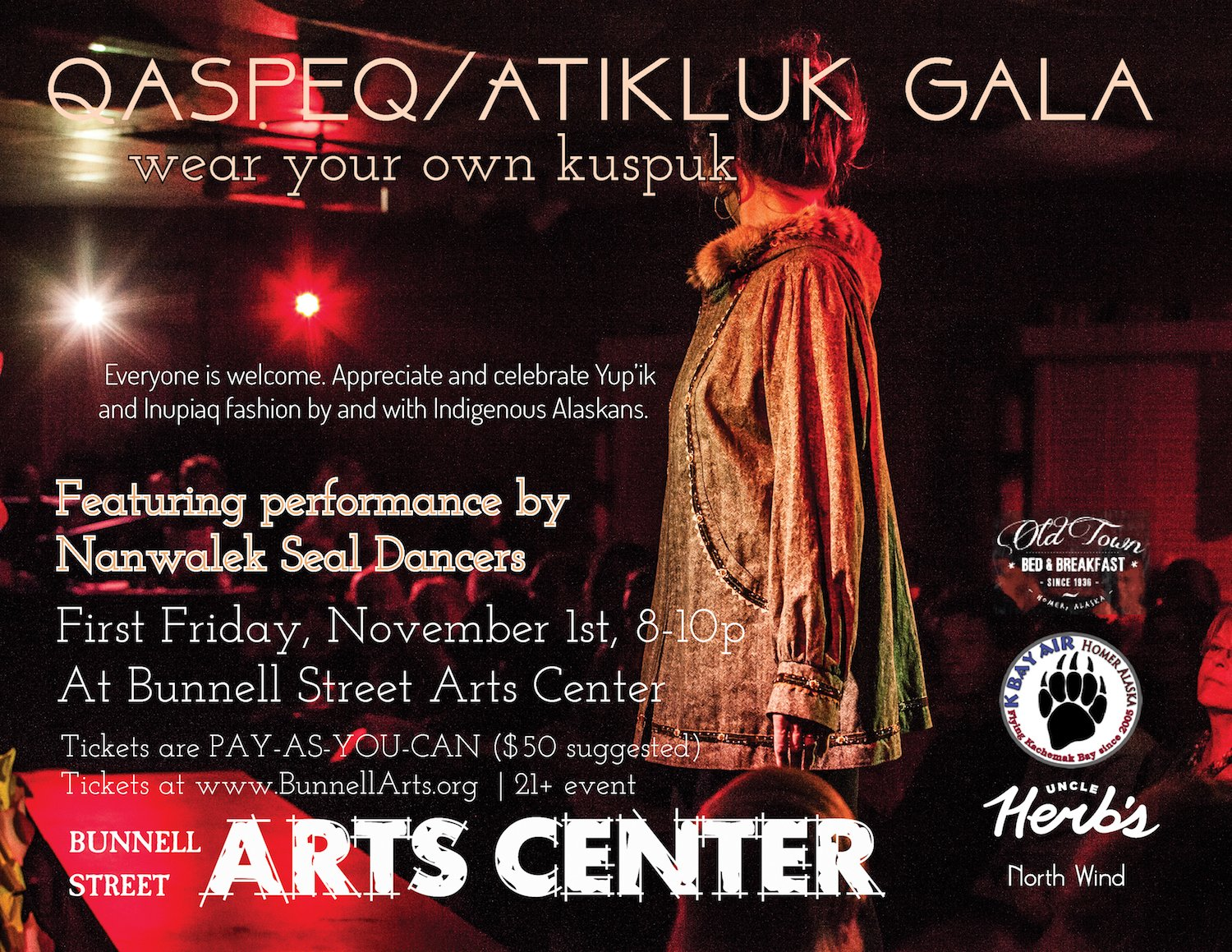 Wear Your Own Kuspuk Gala