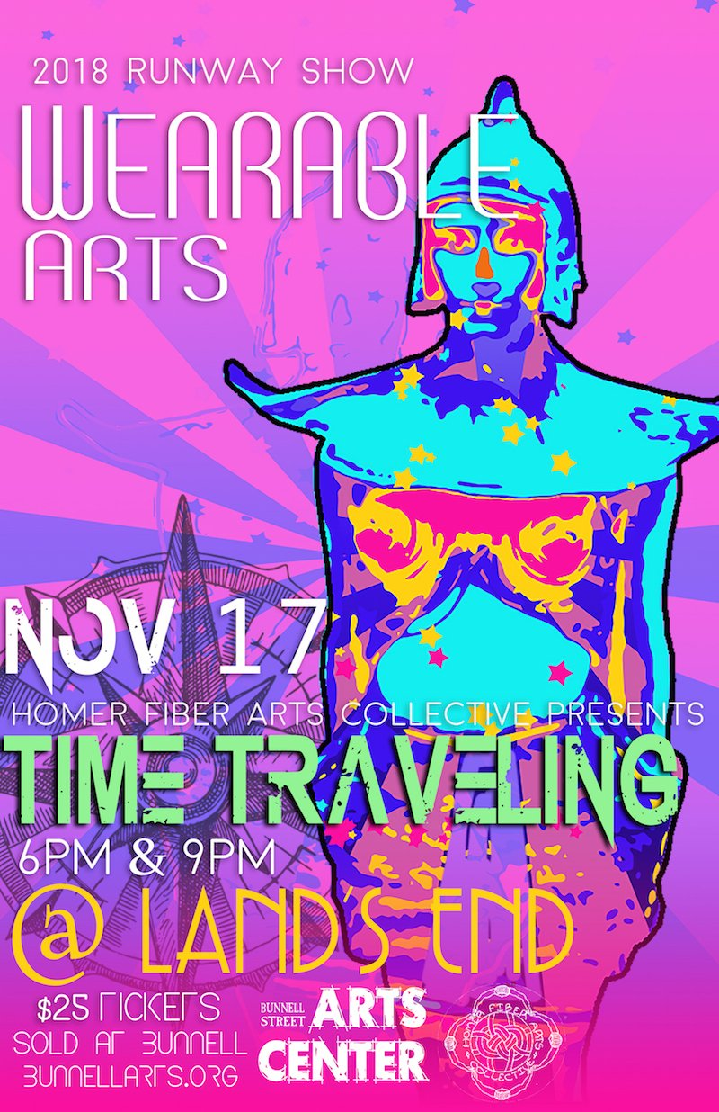 2018 Wearable Arts Runway Fashion Show: Time Traveling, November 17th