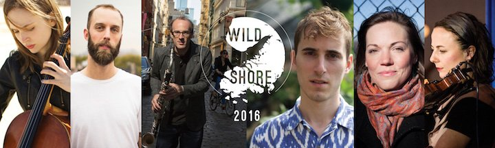 Wild Shore, Mainstage Concerts, August 13th 8PM, August 14th 3PM