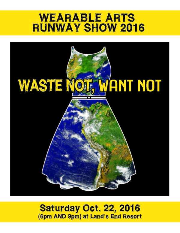 "Wearable Arts 2016 ""Waste Not, Want Not"""