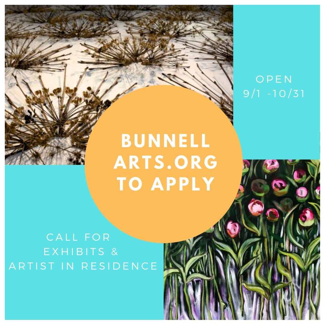 Call For Exhibits And Artist In Residence Sept 1 – Oct 31
