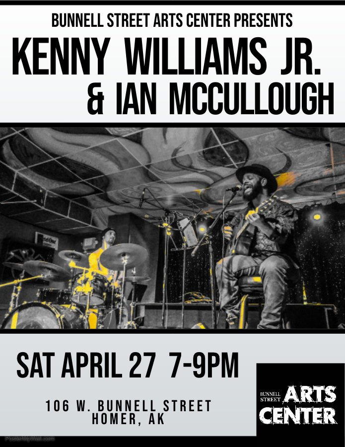 Kenny Williams And Ian McCullough Concert, 4/27, 7p