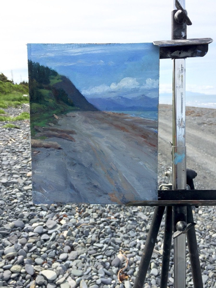 Plein Air Painting Workshop With David Pettibone, Aug 15, 2020
