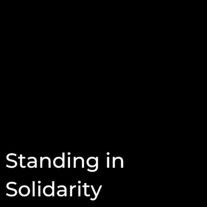 Standing In Solidarity
